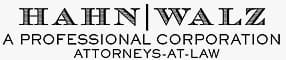 Hahn | Walz a professional corporation attorneys at law